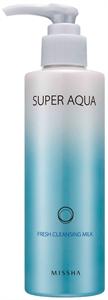 Missha Super Aqua Fresh Cleansing Milk