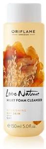 Oriflame Love Nature Habzó Arctisztító Zabkivonattal