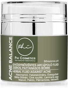 Phi Acne Balance Arcápoló Fluid Zsíros Pattanásos Bőrre