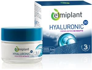 Elmiplant Hyaluronic 3D Ránctalanító Éjszakai Krém
