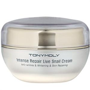 Tonymoly Intense Repair Live Snail Cream