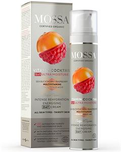 Mossa Vitamin Cocktail 5in1 Intenzív Rehidratáló és Energetizáló Nappali Krém