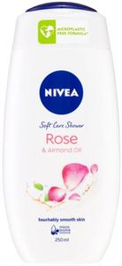 Nivea Rose & Almond Oil Krémtusfürdő