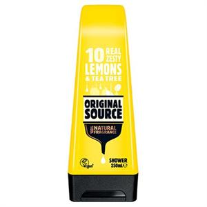 Original Source Lemons & Tea Tree Gélállagú Tusfürdő