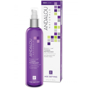 Andalou Naturals Age Defying Blossom + Leaf Toning Refresher