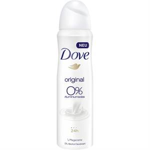 Dove Original 0% Deo Spray