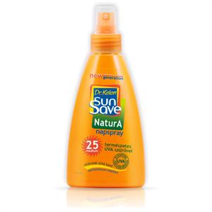 Dr. Kelen Sun Save Natura Napspray SPF25 Természetes Fényvédővel