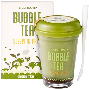 Etude House Bubble Tea Sleeping Pack - Green Tea