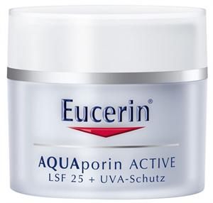 Eucerin Aquaporin Active Hidratáló Arckrém Normál Bőrre UV-Szűrővel FF25