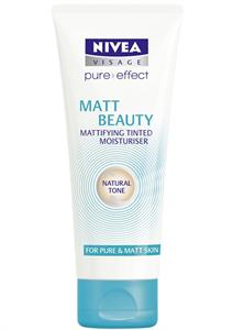 Nivea Visage Pure Effect Matt Beauty Színezett Hidratáló