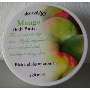 DermaV10 Body Butter Mango