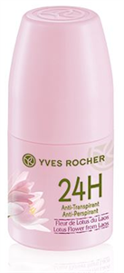 Yves Rocher Golyós Dezodor Laoszi Lótuszvirág