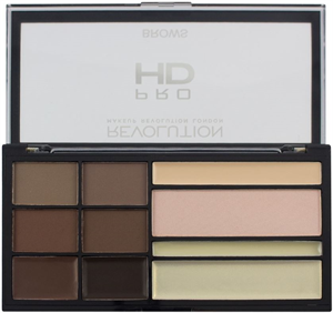 MakeUp Revolution HD Pro Brows Szemöldök Paletta