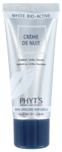 PHYT'S WBA Crème De Nuit - Bio pigmentfolt halványító éjszakai krém