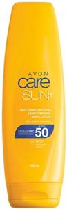 Avon Care Sun+ Vízálló és Hidratáló Naptej SPF50