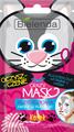 Bielenda Crazy Mask Tisztító Hatású Fátyolmaszk (Cica)