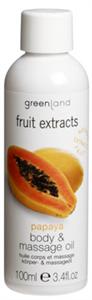 Greenland Fruit Extracts Masszázsolaj Papaya