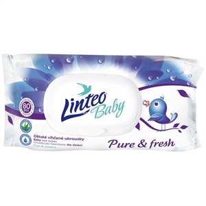 Linteo Baby Pure & Fresh Törlőkendő