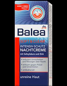 Balea Intenzív Védő Éjszakai Arckrém Pattanásos Bőrre