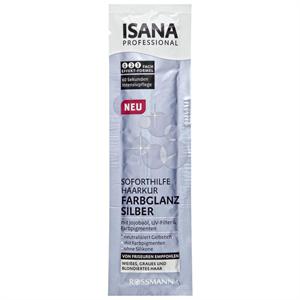 Isana Professional Farbglanz Silber Soforthilfe Haarkur