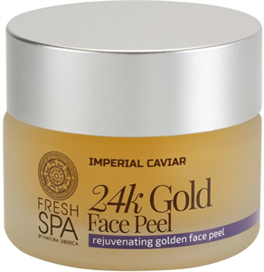 Natura Siberica Fresh Spa Imperial Caviar 24k Gold Face Peel