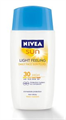 Nivea Sun Light Feeling Napvédő Arckrém SPF 30
