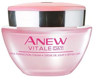 Avon Anew Vitale Nappali Krém Spf 25 UVA / UVB-Szűrővel