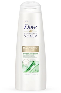 Dove Derma Care Scalp Invigorating Mint Anti Dandruff 2in1 Shampoo & Conditioner