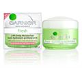 Garnier Total Fresh 24 Hour Hidratáló Krém Száraz és Érzékeny Bőrre
