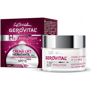 Gerovital H3 Evolution Hidratáló Bőrfeszesítő Nappali Krém SPF10