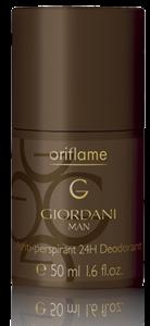 Oriflame Giordani Man 24 Órás Izzadásgátló Golyós Dezodor