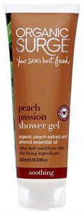 Organic Surge Peach Passion Shower Gel