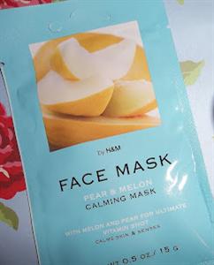 H&M Pear & Melon Calming Mask