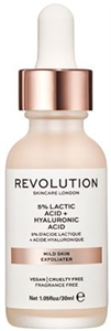 Revolution Skin Mild Skin Exfoliator 5% Lactic Acid + Hyaluronic Acid