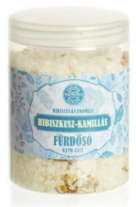 Yamuna Hibiszkusz-Kamillás Fürdősó - Tégelyes