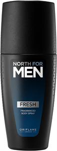 Oriflame North For Men Fresh Illatspray