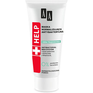 AA Help Acne Skin Antibakteriális, Normalizáló Hatású Arcpakolás