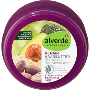 Alverde Repair-Haarbutter Avocado-Sheabutter