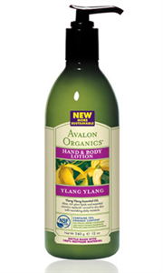 Avalon Organics Ylang Ylang Testápoló