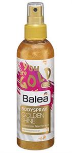 Balea You Are Gold Golden Shine Bodyspray