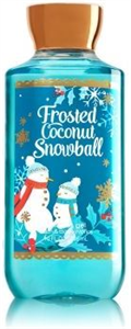 Bath & Body Works Frosted Coconut Snowball Shower Gel