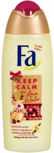 Fa Keep Calm And Love Winter Tusfürdő