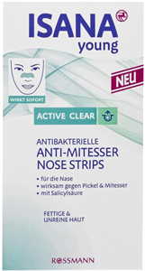 Isana Young Active Clear Nose Strips