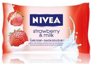 Nivea Strawberry & Milk Krémszappan