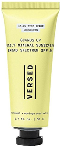 Versed Guards Up Daily Mineral Sunscreen Broad Spectrum SPF35