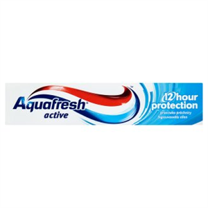 Aquafresh Active 12H Protection Fluoridos Fogkrém