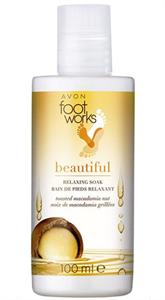 Avon Foot Works Makadámdió Nyugtató Lábfürdető