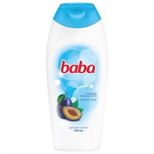 Baba Hidratáló Krémtusfürdő Szilva Illattal
