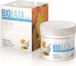 Biobaza Plus Ápoló Krém Érzékeny és Sérült Bőrre