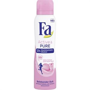 Fa Deodorant Spray Active & Pure